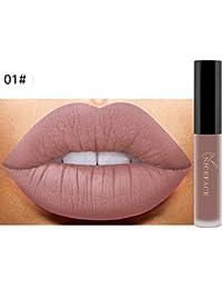 HARRYSTORE Nuevo Lip Lingerie Matte Liquid Lipstick Maquillaje Impermeable Lip Gloss 12 Sombras