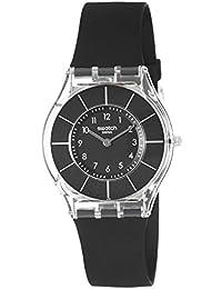 Swatch Damen-Armbanduhr Black Classiness SFK361