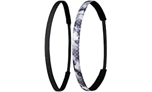 Ivybands Anti-Rutsch Haarband | 2er Pack | Mehrere Designs