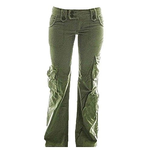 Huateng pantaloni cargo da donna pantaloni militari da donna pantaloni cargo da donna pantaloni da trekking outdoor per pantaloni da alpinismo da campeggio s-5xl