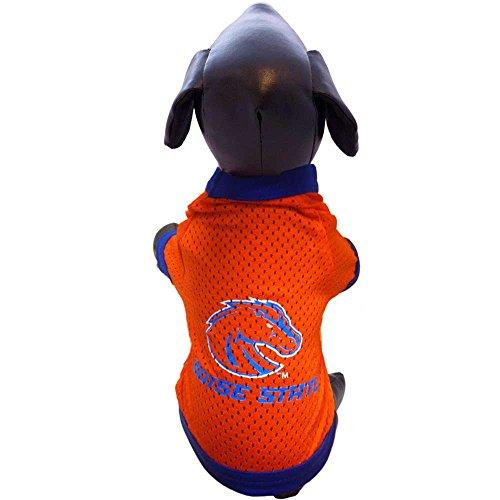 All Star Dogs NCAA Boise State Broncos Athletic Mesh Dog Jersey, Unisex-Erwachsene, Team Color, Large (Das A Team Dog Kostüm)