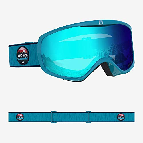 Salomon, Sense, Damen-Skibrille, Blau (Blue Bird)/Universal Mid Blue, L40847200