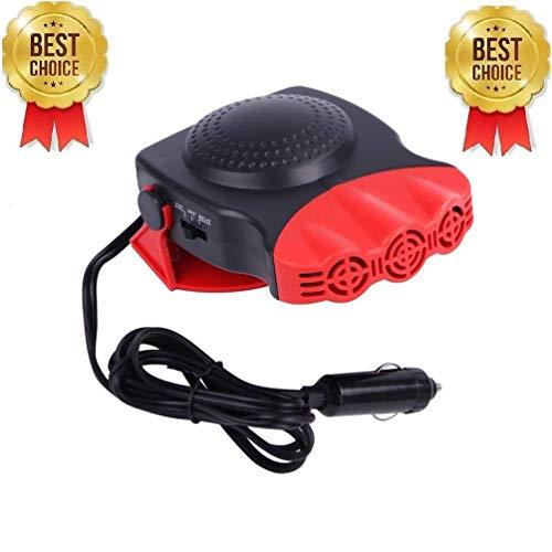 EEIEER Mini Calefactor para Coche 12V Portátil, Electrico Calefacción para coche para...