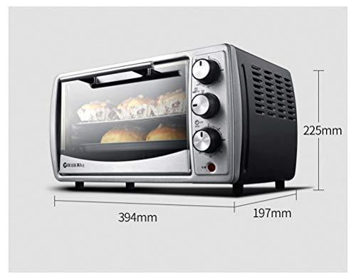 QPSGB Ofen 14 Liter-elektrischer Ofen-Ausgangsbacken-Edelstahl-Panel präzise Temperatursteuerung - Backöfen -