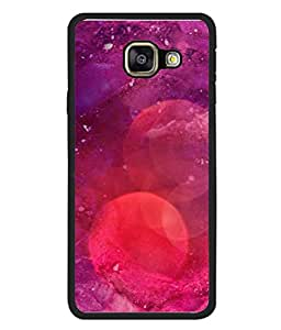 Snapdilla Designer Back Case Cover for Samsung Galaxy A5 (6) 2016 :: Samsung Galaxy A5 2016 Duos :: Samsung Galaxy A5 2016 A510F A510M A510Fd A5100 A510Y :: Samsung Galaxy A5 A510 2016 Edition (Texture Illustration Handmade Brown Backcase Pouch )