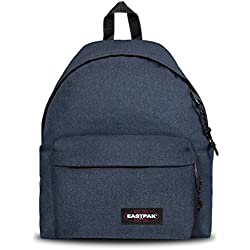 Eastpak Padded Pak'R Sac à dos, 40 cm, 24 L, Bleu (Double Denim)