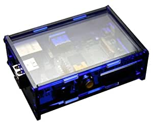 PCSL / Adafruit Midnight Blue - Case / Box / Enclosure for Raspberry Pi Computers - Manufactured in the UK with permission by Adafruit Industries - Licensed Product - FREE Amazon UK Delivery