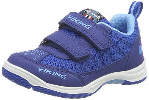 Viking Unisex-Kinder BRYNE Cross-Trainer, Blau (Dark Blue 7635), 29 EU