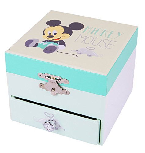 Trousselier - Mickey Baby - Disney - Petit Coffret Musical