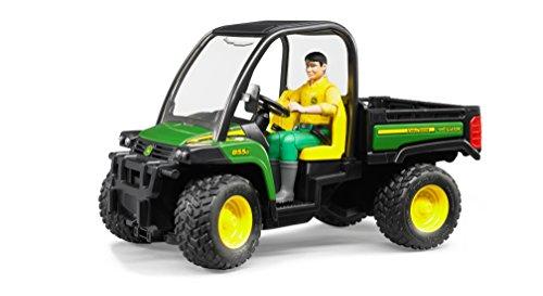 Bruder John Deere Gator XUV 855D with Driver by Bruder Toys
