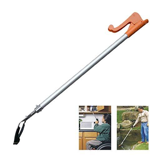 Grabber Reacher, Helfende Hand Litterpicker Long Arm Mechanischer Grabscher Reacher, Orange