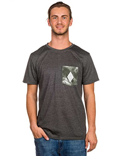 Light Herren T-Shirt Fluid Hula Dark Grey Heather
