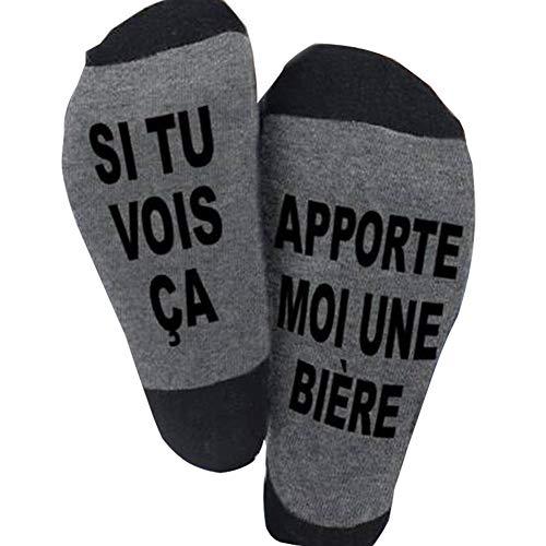 Blesser Chaussettes Coton, SI TU VOIS ÇA, APPORTE MOI UNE...