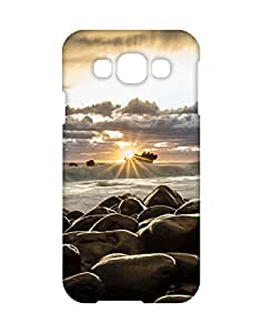 Mobifry Back case cover for Samsung Galaxy E5 SM-E500F Mobile ( Printed design)