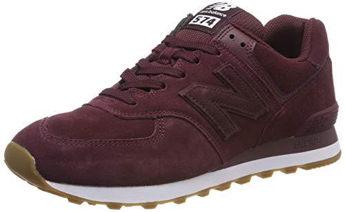 New Balance 574v2, Zapatillas para Hombre, Rojo (Red/White Red/White), 43 EU