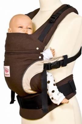 Manduca Babytrage Bauchtrage Rückentrage Hüfttrage rot -