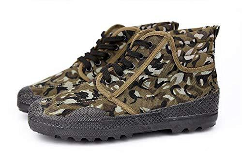 Scarpe di liberazione scarpe basse scarpe di gomma mimetiche resistenti all'usura scarpe da lavoro assicurazione del lavoro scarpe da ginnastica gialle gli uomini possono essere utilizzati come formaz