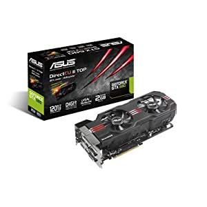Asus GTX680-DC2T-2GD5 Carte graphique Nvidia Geforce GTX 680 2048Mo 1137Mhz PCI-Express 16x