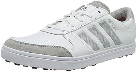 adidas Adicross Gripmor, Men's Golf Shoes, White (White/core Black/ray Red), 11 UK (46 EU)