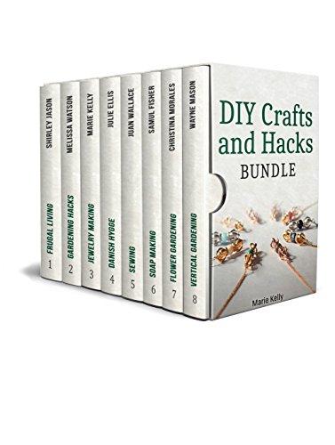 DIY Crafts and Hacks Bundle: 99 Amazing Craft Ideas + 50 Gardening Hacks You Can Easily Do