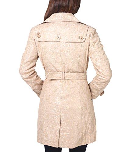 KRISP® Damen Klassischer Trench Coat Mantel Jacke Sandstein (5498)