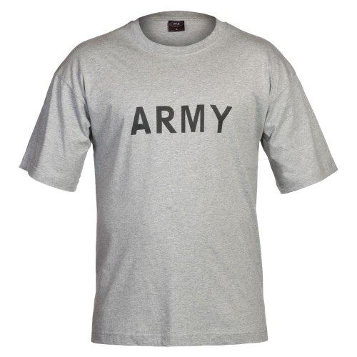 """T-Shirt, bedruckt, """"Army"""" Grau"""