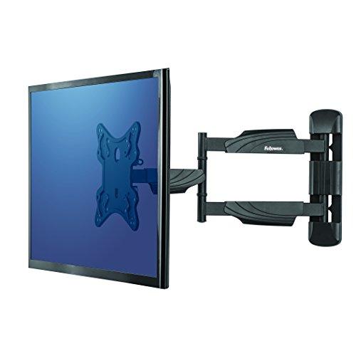 Fellowes 8043601 Full Motion TV/LCD/LED Monitor Wandhalterung für Bildschirme 58,42-139,7 cm (23-55 Zoll) Schwarz Steel Full-motion Lcd Tv