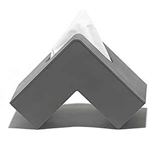 Pa design boite mouchoirs design grise folio amazon for Boite a mouchoirs maison
