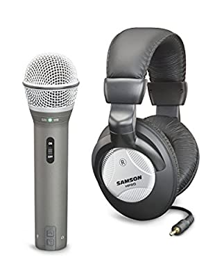 Samson SAQ2U USB and XLR Microphone Recording Pack