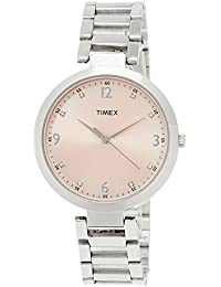 Timex Fashion Analog Pink Dial Women's Watch-TW000X201