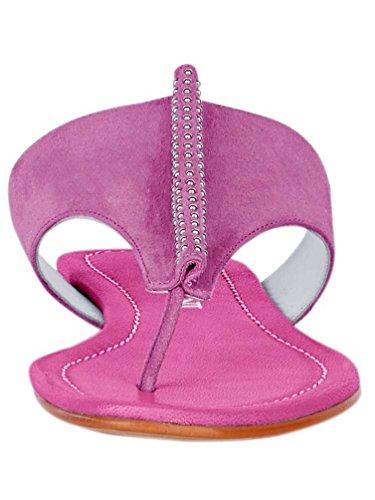 Patrizia Dini Dianette Tongs Sandales Chaussures dété Rose - Rose