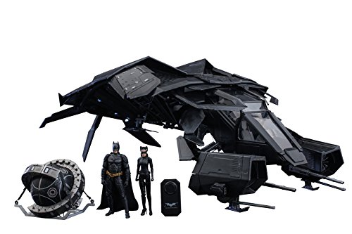 Hot Toys 1:12 Scale MMSC002 Dark Knight Rises The Bat with Batman...