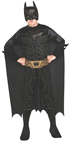 Rubie's IT881286-S - Costume Batman, Multicolore, S
