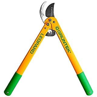 GRÜNTEK Bypass Lopper LEOPARD 540 mm. Ratchet pruning shears with 78 mm blade. New garden pruner. 90-day warranty.