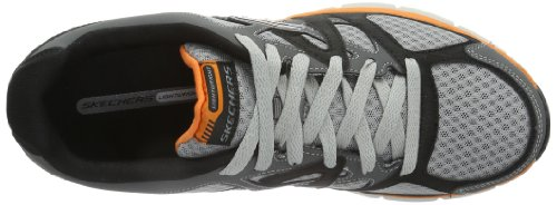 Skechers AgilityUltimate Victory, Baskets mode homme Gris - Grau (CCOR)