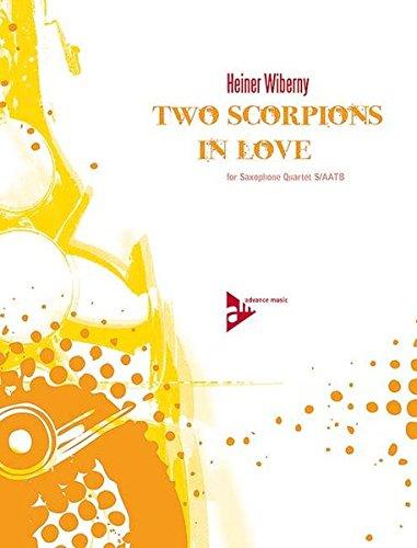 Two Scorpions In Love: 4 Saxophone (S/AATBar). Partitur und Stimmen.