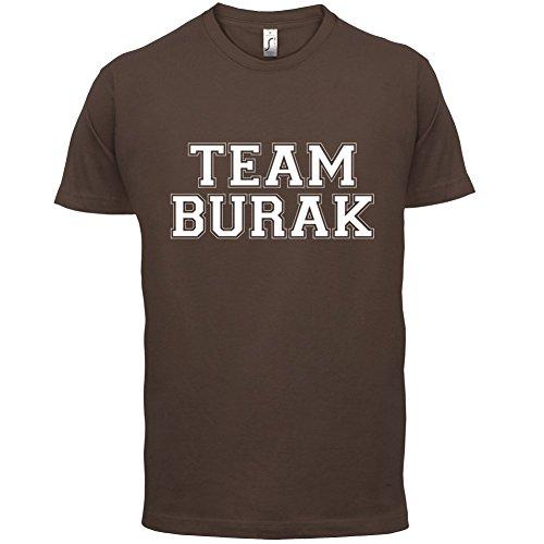 Team Burak - Herren T-Shirt - 13 Farben Schokobraun