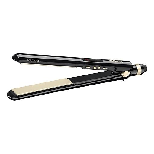 BaByliss Boutique Salon Control 235 Ceramic Hair Straighteners 2199U - 41e8SqubrOL - BaByliss Boutique Salon Control 235 Ceramic Hair Straighteners 2199U **Ready to use in 15 seconds/Curved housing design to create curly or wavy styles**