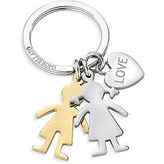 Idea Regalo - portachiavi donna gioielli Morellato LOVE BOY & GIRL trendy cod. SD7128