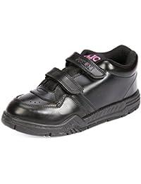 Rex Black School Shoes