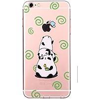 iPhone SE Custodia,Qissy® Apple iPhone SE/5/5s Case Custodia Shock-stampa personalizzata Absorption Bumper Cover e Anti-Graffio Trasparente per Apple iPhone 5 5s
