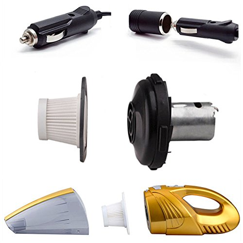 Aspirapolvere-per-Auto-Potente-120W-4000PA-Aspiratore-Alta-PotenzaFiltro-HEPA45M-Cavo-di-Alimentazione