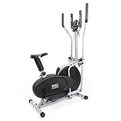 Max Taylor Pro - 2-in1 Elliptical Cross Trainer, The Ultimate Fitness Weightloss Machine – Use as Exercise Bike and Cross Trainer by AGTC Ltd