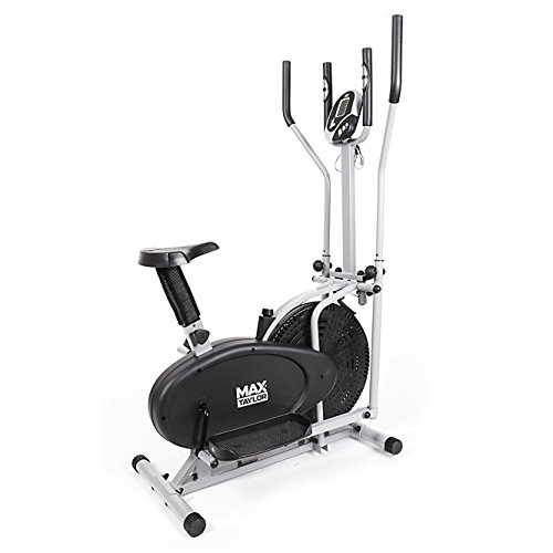 Max Taylor Pro - 2-in1 Elliptical Cross Trainer, The Ultimate Fitness Weightloss Machine � Use as Exercise Bike and Cross Trainer
