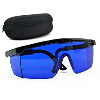 E-TING Blue Safety Glasses 492nm-770nm Red Green Yellow Laser Eye Protection Goggles