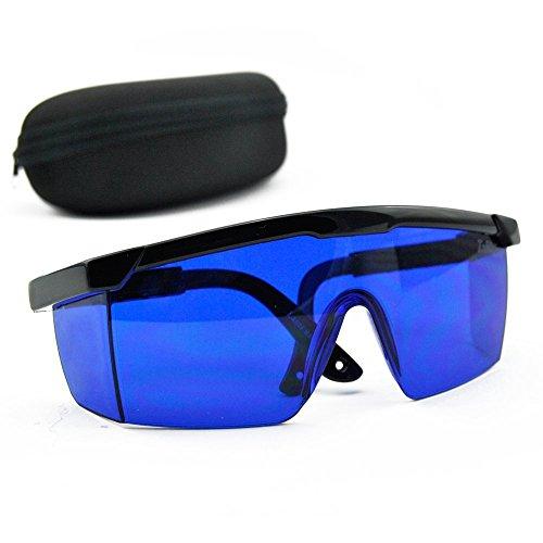 E-TING Blaue Schutzbrille 492nm-770nm Rot, Grün, Gelb, Augenschutzbrille -
