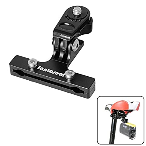 Fantaseal® Vélo Support Vélo Selle Support Bicyclette Support Bike Mount Aluminum Selle Adaptateur Vélo Mount Bicyclette Mount Bicyclette Selle Clip Bicyclette Adapter Bike Mount pour Sony Bicyclette Mount Sony Bicyclette Selle Support Bike Accessories Sony Action Caméra Bicyclette Support Sports Caméra Bike Mount pour SONY HDR AS-10 AS-15 AS-20 AS-30 AS-50 AS-100 AS-200 AZ-1 FDR X1000VR etc- Noir