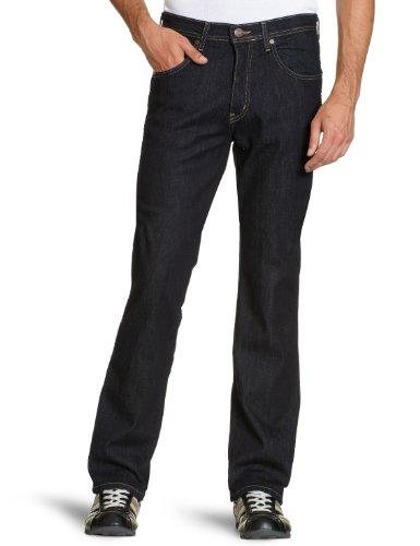 Wrangler Herren Jeans Hoher Bund W12OC7023/ Arizona, Gr. 31/34 (31/34), Blau (Rinsewash 023) Original Arizona Jean