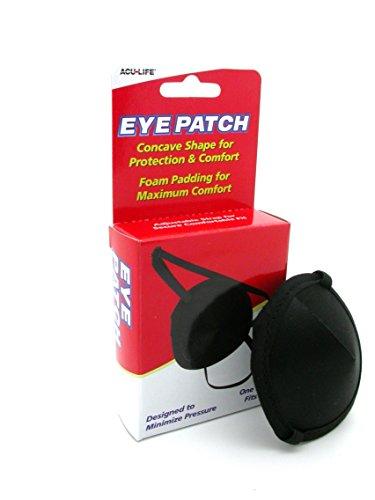 ACULIFE Medizinische Augenschutzklappe mit Schaumpolster 400013 (Hund Patch Usa)
