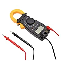 ‏‪DT3266L AC/DC Mini Pocket Handheld Digital Clamp Meter Voltage Current Resistance Tester Multimeter‬‏